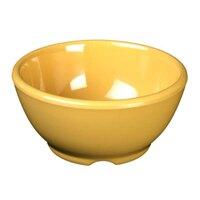 Thunder Group CR5804YW Yellow 10 oz. Melamine Soup Bowl, 4 5/8 inch - 12/Case