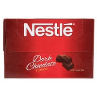 Nestle Dark Hot Chocolate Mix - 50 / Box