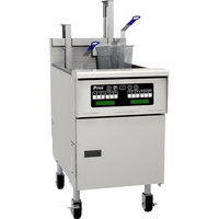 Pitco SG18SC Natural Gas 70-90 lb. Floor Fryer with Intellifry Computer Controls - 140,000 BTU