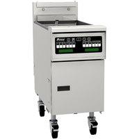 Pitco® SG14RSC Liquid Propane 40-50 lb. Floor Fryer with Intellifry Computer Controls - 122,000 BTU