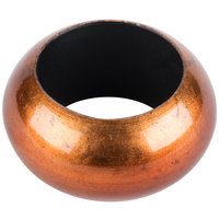 Copper 2 3/8 inch Round Acrylic Napkin Ring