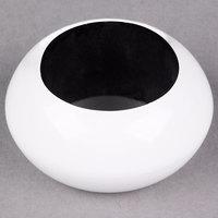 White 2 3/8 inch Round Acrylic Napkin Ring