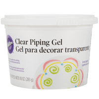Wilton 704-105 Clear Piping Gel - 10 oz. Tub