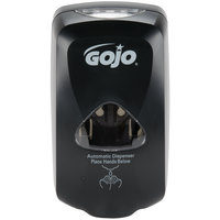 GOJO® 2730-12 TFX 1200 mL Black Touchless Hand Soap Dispenser