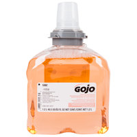 GOJO® 5362-02 TFX Premium 1200 mL Fresh Fruit Foaming Antibacterial Hand Soap - 2 / Case