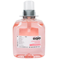 GOJO® 5161-03 FMX Luxury 1250 mL Cranberry Foaming Hand Soap - 3/Case