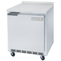 Beverage-Air WTF24 24'' Single Door Shallow Depth Undercounter Worktop Freezer - 5.8 cu. ft.