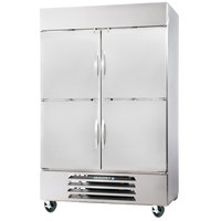 Beverage-Air HBF44-1-HS 47 inch Horizon Series Two Section Solid Half Door Reach-In Freezer - 44 cu. ft.