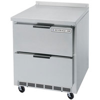 Beverage-Air WTFD27A-2 27 inch Two Drawer Worktop Freezer - 7.3 cu. ft.