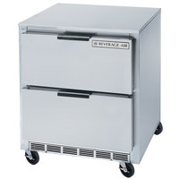Beverage-Air UCFD36A-2 36 inch Undercounter Freezer with 2 Drawers - 8.5 Cu. Ft.