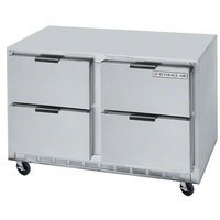 Beverage-Air UCFD60A-4 60 inch Undercounter Freezer with 4 Drawers - 17.1 Cu. Ft.