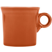 Homer Laughlin 453334 Fiesta Paprika 10.25 oz. Mug - 12/Case