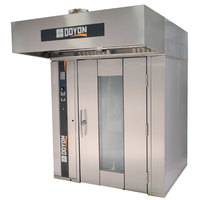Doyon SRO2G Gas Double Rotating Rack Bakery Convection Oven - 275,000 BTU