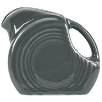 Homer Laughlin 475339 Fiesta Slate 4.75 oz. Mini Disc Creamer Pitcher - 4/Case