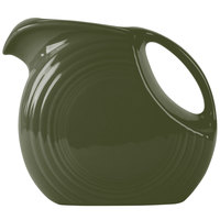 Homer Laughlin 484340 Fiesta Sage 2.1 Qt. Large Disc Pitcher - 2/Case