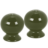 Homer Laughlin 497340 Fiesta Sage Salt and Pepper Set - 4/Case