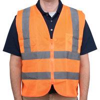 Orange Class 2 High Visibility Safety Vest - Large