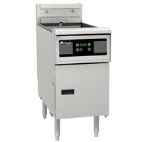 Pitco SE148-D Solstice 60 lb. Electric Floor Fryer with Digital Controls - 240V, 3 Phase, 17kW