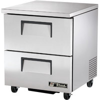 True TUC-27F-D-2 27 inch Undercounter Freezer with Two Drawers