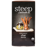 Steep By Bigelow Organic Chai Black Tea - 20/Box