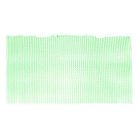 2' Green Plastic Mesh Bar Mat / Shelf Liner