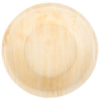 EcoChoice 6 inch Round Deep Palm Leaf Plate - 100/Case