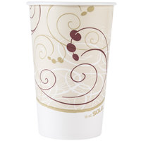Dart Solo RP16P-J8000 Symphony 16-18 oz. Poly Paper Cold Cup - 50/Pack