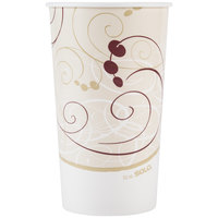 Dart Solo RP32NP-J8000 Symphony 32-35 oz. Poly Paper Cold Cup - 40 / Pack