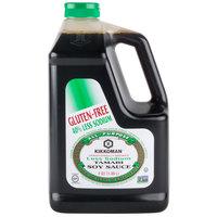 Kikkoman Less Sodium Gluten Free Tamari Soy Sauce .5 Gallon Container - 6/Case