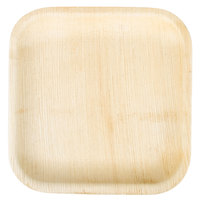 EcoChoice 8 inch Square Palm Leaf Plate   - 100/Case