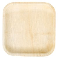 EcoChoice 8 inch Square Palm Leaf Plate - 100 / Case