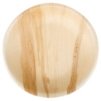 TreeVive by EcoChoice 7 inch Round Palm Leaf Plate - 100/Case