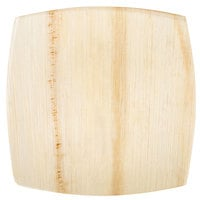 TreeVive by EcoChoice 8 inch Square Coupe Palm Leaf Plate - 100/Case