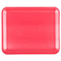 Genpak 1012S (#12S) Foam Meat Tray Rose 11 1/4 inch x 9 1/4 inch x 1/2 inch - 250/Case