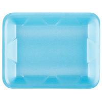 Genpak 1004D (#4D) Blue 9 1/4 inch x 7 1/4 inch x 1 1/4 inch Foam Supermarket Tray - 500/Case