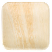 EcoChoice 6 inch Square Palm Leaf Plate - 25 / Pack