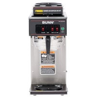 Bunn 12950.0356 CWT15 Automatic 12 Cup Coffee Brewer with 2 Upper Warmers, 1 Lower Warmer, and No Hot Water Faucet - 120V