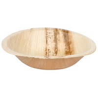 EcoChoice 5 inch Round Palm Leaf Bowl - 25 / Pack