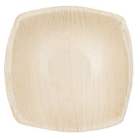EcoChoice 4 inch Square Coupe Palm Leaf Bowl - 25/Pack