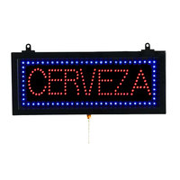 Aarco Cerveza Beer LED Sign