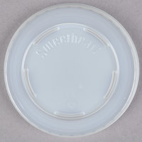 Dart Solo L53-0100 5 oz. Translucent Flat Plastic Lid - 125 / Pack