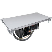 Hatco CSU-36-F Aluminum Built-In Undermount Cold Shelf - 36 inch x 15 1/2 inch