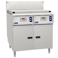 Pitco SRTG14-2-D Liquid Propane 17.5 Gallon Two Section Rethermalizer with Digital Controls - 110,000 BTU