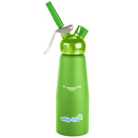 Whip-It SV PRO-09R Green .5 Liter Aluminum Rubber Coated Cream Whipper