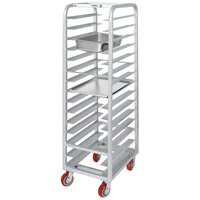 Channel AXD-UTR-18 18 Pan Heavy-Duty Aluminum Steam Table / Bun Pan Rack - Assembled