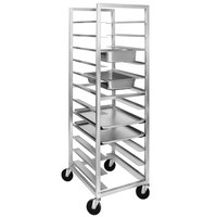 Channel AXD-UTR-12 12 Pan Heavy-Duty Aluminum Steam Table / Bun Pan Rack - Assembled