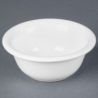 Tuxton BWB-0809 DuraTux 8 oz. White Pot Pie Bowl / Dish - 12/Case