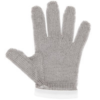 San Jamar MGA515S Stainless Steel Mesh Cut Resistant Glove - Small