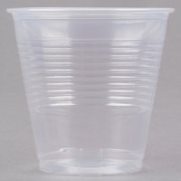 Choice 5 oz. Translucent Thin Wall Plastic Cold Cup - 100 / Pack