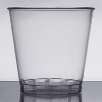 Fineline Savvi Serve 4015 1.5 oz. Clear Hard Plastic Shot Glass - 1000 / Case